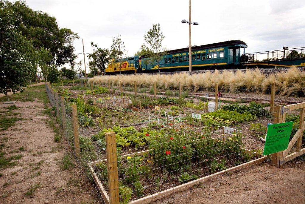 Railyard Park Community Garden